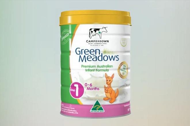 Sữa Green Meadows là thực phẩm dinh dưỡng số 1 dành cho trẻ sơ sinh