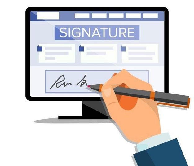 Chữ ký điện tử